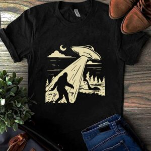 UFO Bigfoot Sasquatch Loch Ness Monster Believers Unisex T Shirt