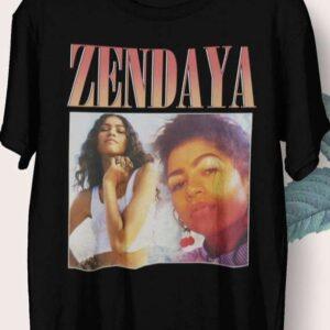 Zendaya Actress Vintage T Shirt