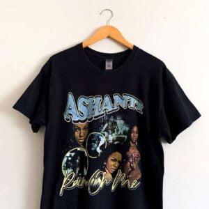 Ashanti Rain On Me Vintage Unisex T Shirt