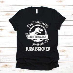 Auntiesaurus Aunt Unisex T Shirt