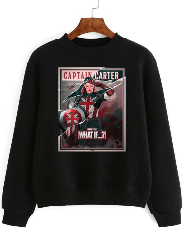 Captain Carter Sweatshirt Carol Danvers Unisex T Shirt