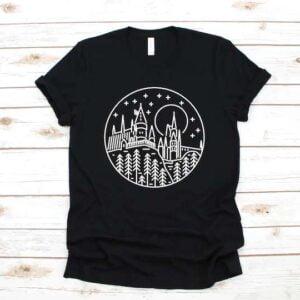 Custom Castle Unisex T Shirt