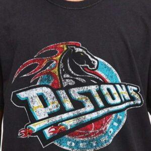 Detroit Pistons Logo Vintage Unisex T Shirt