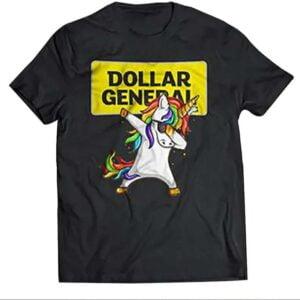 Dollar General – Unicorn Dabbing Unisex T Shirt