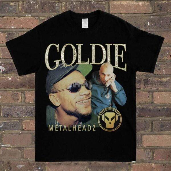 Goldie And The Metalheadz Vintage Unisex T Shirt