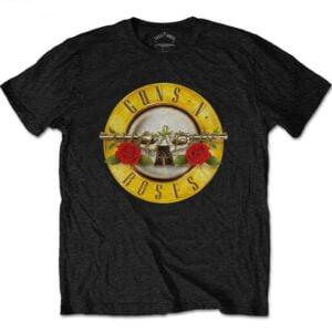 Guns N Roses Classic Logo Unisex T Shirt