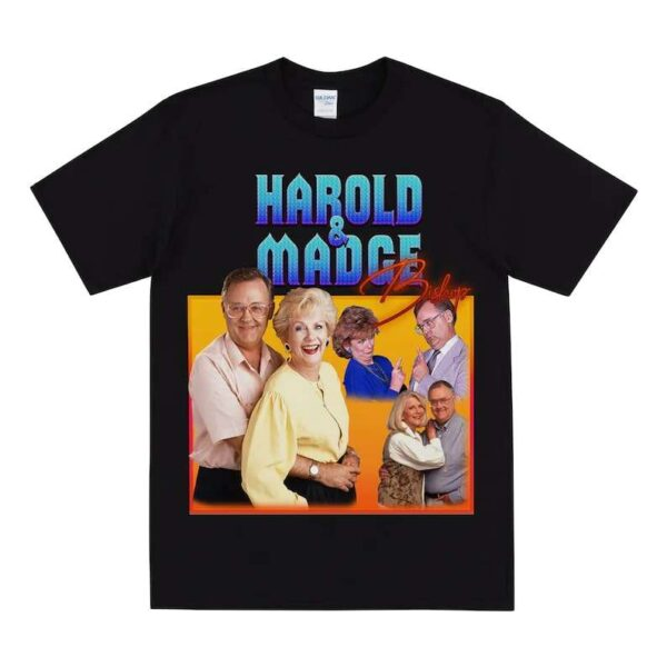 Harold And Madge Bishop Neighbours Unisex T Shirt