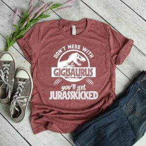 Jurassic Gigisaurus Unisex T Shirt