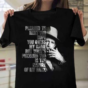 Keith Richards Pleased To Meet You Hope You Guess My Name Unisex T Shirt