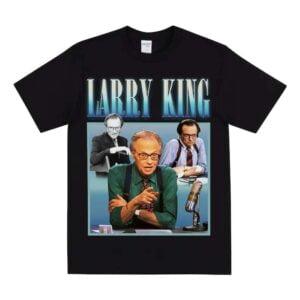 Larry King American Talk Show Host Unisex T Shirt