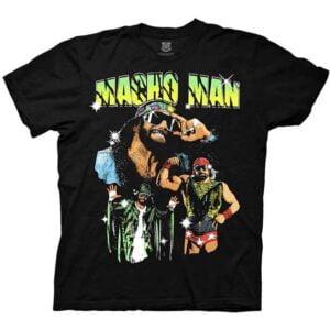 Macho Man WWE Classic T Shirt