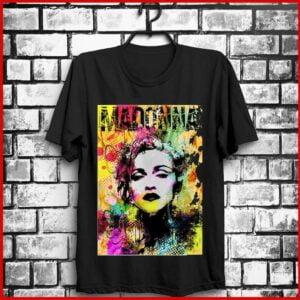 Madonna Color Pop Singer Unisex T Shirt