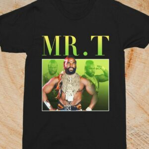 Mr. T Wwe World Wrestling Vintage Unisex T Shirt