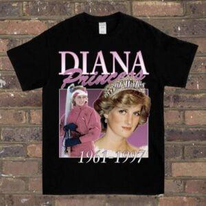 Princess Diana Vintage Unisex T Shirt