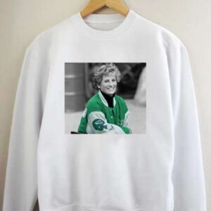 Princess Diana Wearing Philadelphia Eagles Jacket Sweatshirt Unisex T Shirt