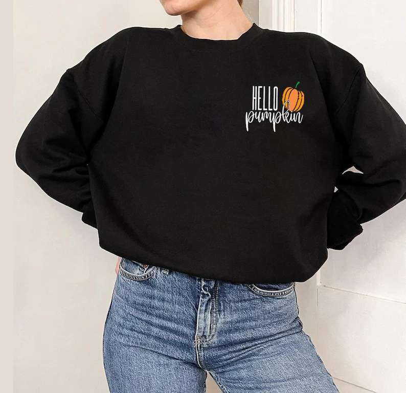 Pumpkin Poket Unisex T Shirt