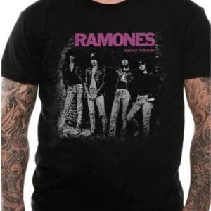Ramones T Shirt Rocket To Russia
