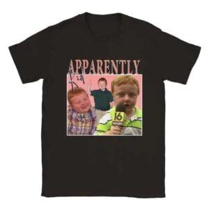 Robinerd Apparently Kid Unisex T Shirt