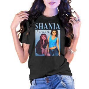 Shania Jugin Vintage Unisex T Shirt