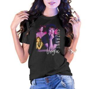 Suzanie Vega Vintage Unisex T Shirt