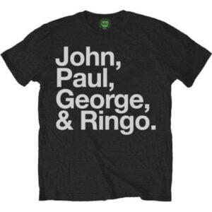 The Beatles Band John Paul George Ringo Unisex T Shirt