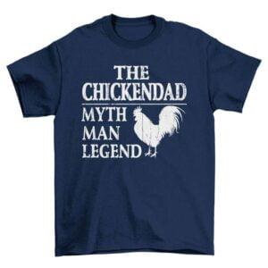 The Chicken Dad Unisex T Shirt