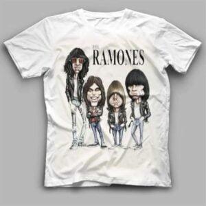 The Ramones Rock Band Unisex T Shirt