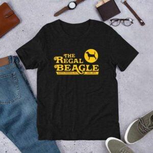 The Regal Beagle Threes Company Unisex T Shirt