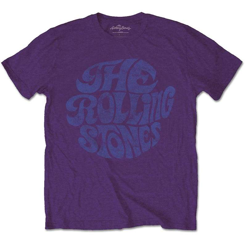 The Rolling Stones Band Vintage 1970's Logo Unisex T Shirt