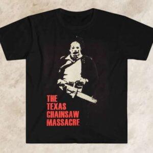 The Texas Chainsaw Massacre Film Series Unisex T Shirt