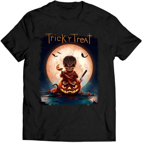 Trick Or Treat Scary Horror Spooky Halloween Movie Unisex T Shirt