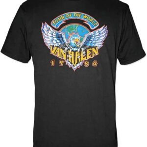 Van Halen Tour of The World 1984 Unisex T Shirt