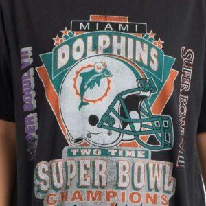 Vintage Miami Dolphins Super Bowl Unisex T Shirt
