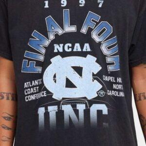 Vintage NCAA UNC 1997 Final Four Unisex T Shirt