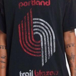 Vintage Portland Trail Blazers Logo Unisex T Shirt
