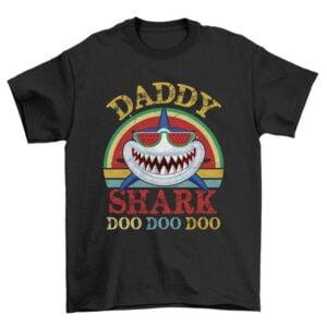 Watermelon Daddy Shark Unisex T Shirt