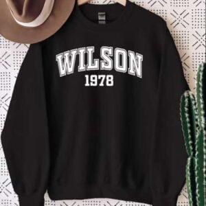 Wilson 1978 Sweatshirt Unisex T Shirt