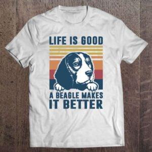 Beagle Dog Mom Dad Beagle Unisex T Shirt