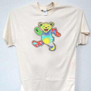 Bear T Shirt GD Greatful Dead