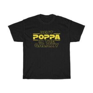 Best Poppa T Shirt Gift for Poppa