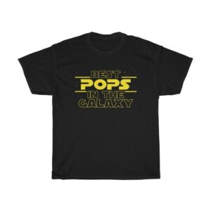 Best Pops In The Galaxy T Shirt Gift for Pops