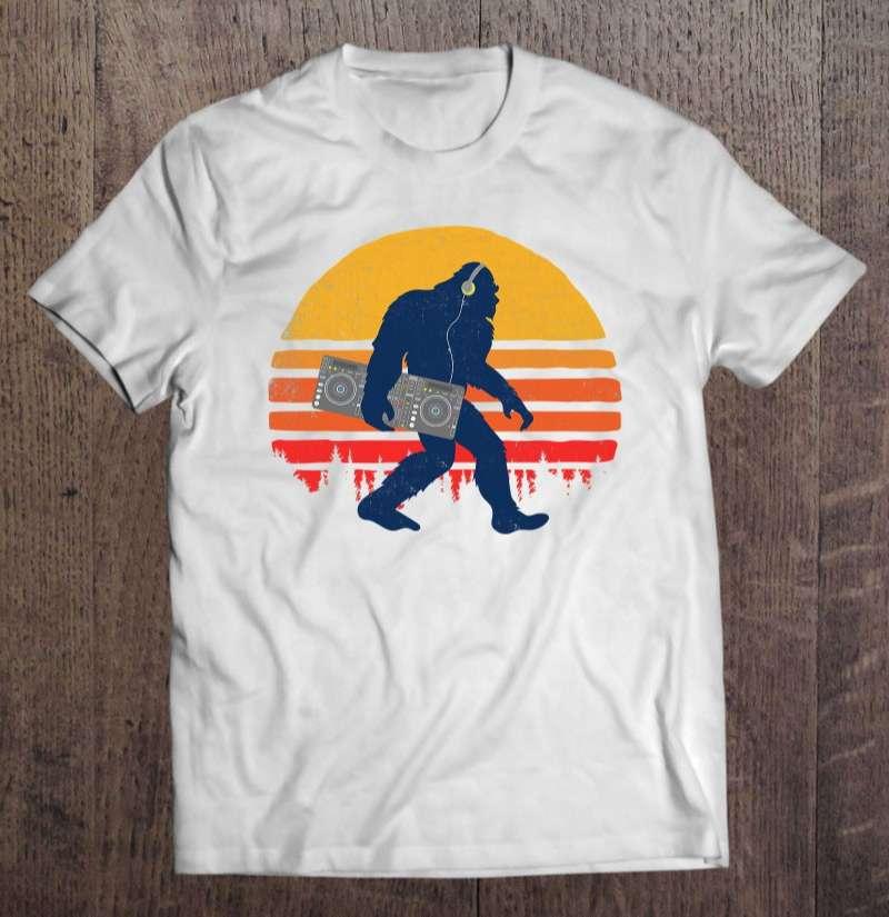 Bigfoot DJ Unisex T Shirt