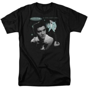 Elvis Presley T Shirt King of Rock and Roll