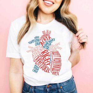 Heart Anatomy Unisex T Shirt
