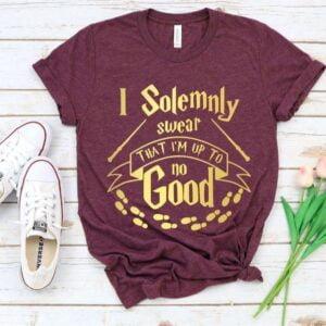 I Solemnly Swear Im Up To No Good Shirt Harry Potter