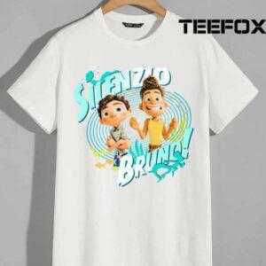Luca And Alberto Silenzio Bruno Movie T Shirt