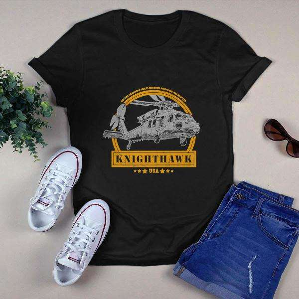 MH 60S Knighthawk Helicopter Shirt