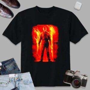 Michael Myers Shirt Let It Burn Halloween