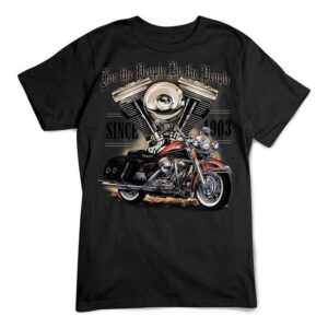 Motorcycle T Shirt For The People Bike