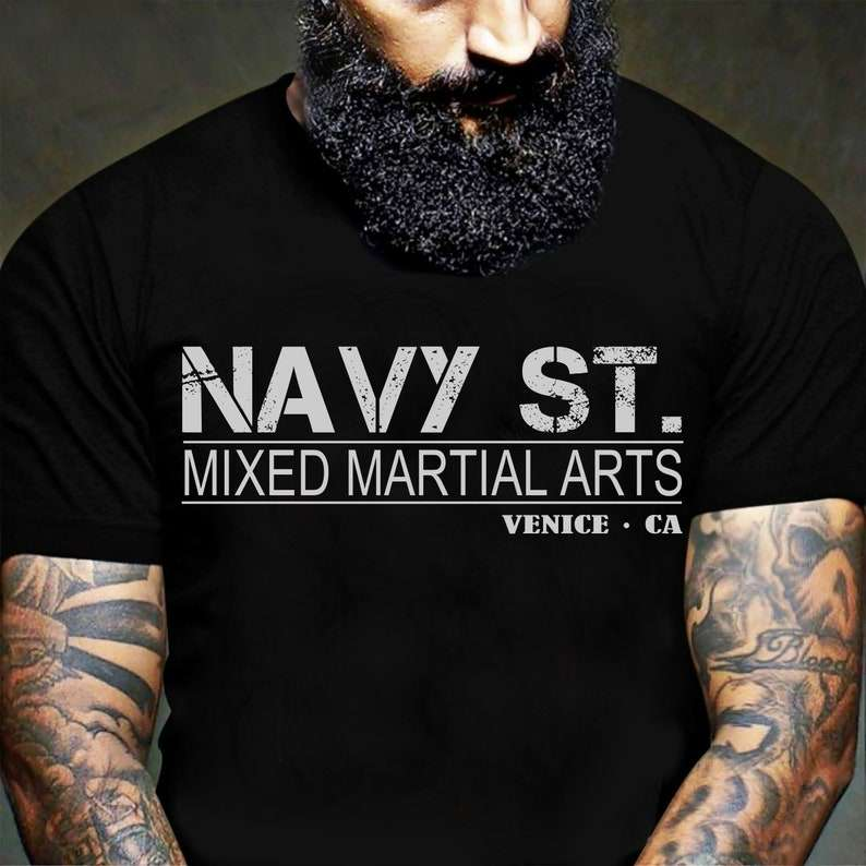 Navy St MMA Unisex T Shirt